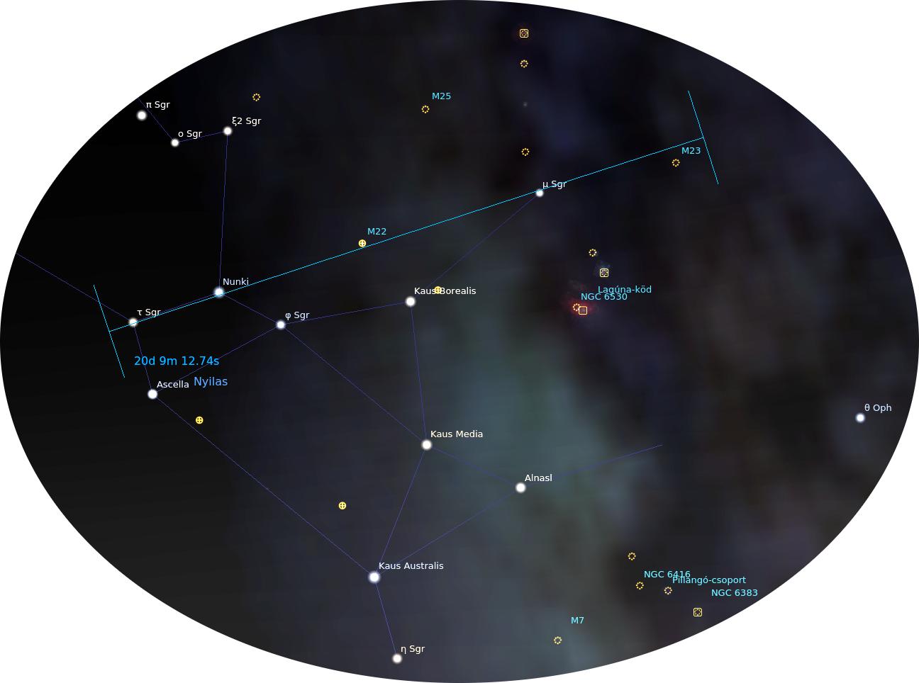 Nyilas csillagkép
